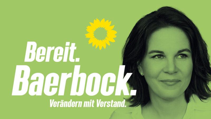 Annalena Baerbock Bundestagswahl 2021 Bereit