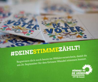Bundestagswahl 2021 Belgien